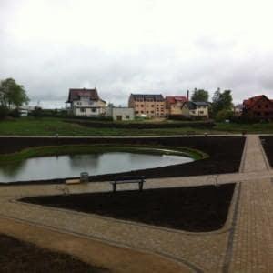 Zagospodarowanie centrum wsi Luzina