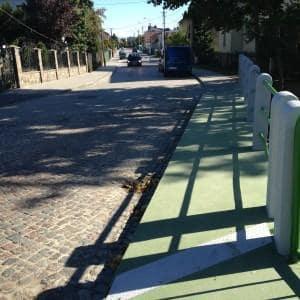 Modernizacja ulicy Abrahama w Rumii