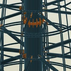 Konstrukcja stalowa Choinka 3